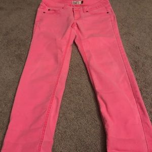 SO Jeans - Hot pink jeans skinny size 5 women's